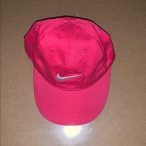 Nike check Pink hat